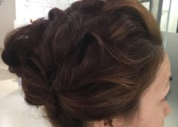 Hair up for formal event - Kittn Salon & Spa - Beauty Parlour Karnal +91 184 404 2229 174 and Ludhiana + 91 161 410 0076.