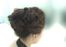 Hair up for formal event 2 - Kittn Salon & Spa - Beauty Parlour Karnal +91 184 404 2229 174and Ludhiana + 91 161 410 0076.