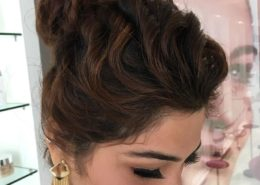 View of hair and makeup - Kittn Salon & Spa - Beauty Parlour & hair salon Karnal +91 184 404 2229 174 and Ludhiana + 91 161 410 0076.