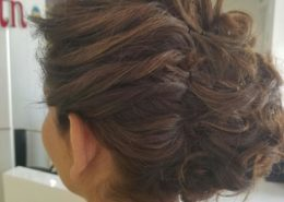 Rear view with hair up - Kittn Salon & Spa - Beauty Parlour & hair salon Karnal +91 184 404 2229 174 and Ludhiana + 91 161 410 0076.