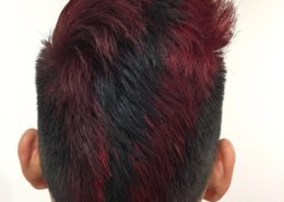 Male hair cut and partial colour - Kittn Salon & Spa - Beauty Parlour Karnal +91 184 404 2229 174 – L, Model Town, Karnal, Haryana-132001