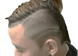 Men's style cut and hair tattoo - Kittn Salon & Spa - Beauty Parlour & hair salon Karnal +91 184 404 2229 174 and Ludhiana + 91 161 410 0076.
