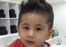 Kids cuts with hair tattoo - Kittn Salon & Spa - Beauty Parlour & hair salon Karnal +91 184 404 2229 174 and Ludhiana + 91 161 410 0076.