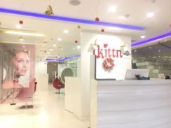About Us-Front of salon- Kittn Salon & Spa - Karnal +91 184 404 2229 and Ludhiana + 91 161 410 0076
