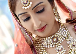 Traditional bridal makeup Karnal - beauty parlour Karnal-+91 184 404 2229 174 and Ludhiana + 91 161 410 0076.