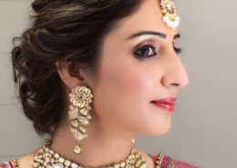Wedding day makeup Karnal- beauty parlour Karnal+91 184 404 2229 174 and Ludhiana + 91 161 410 0076.